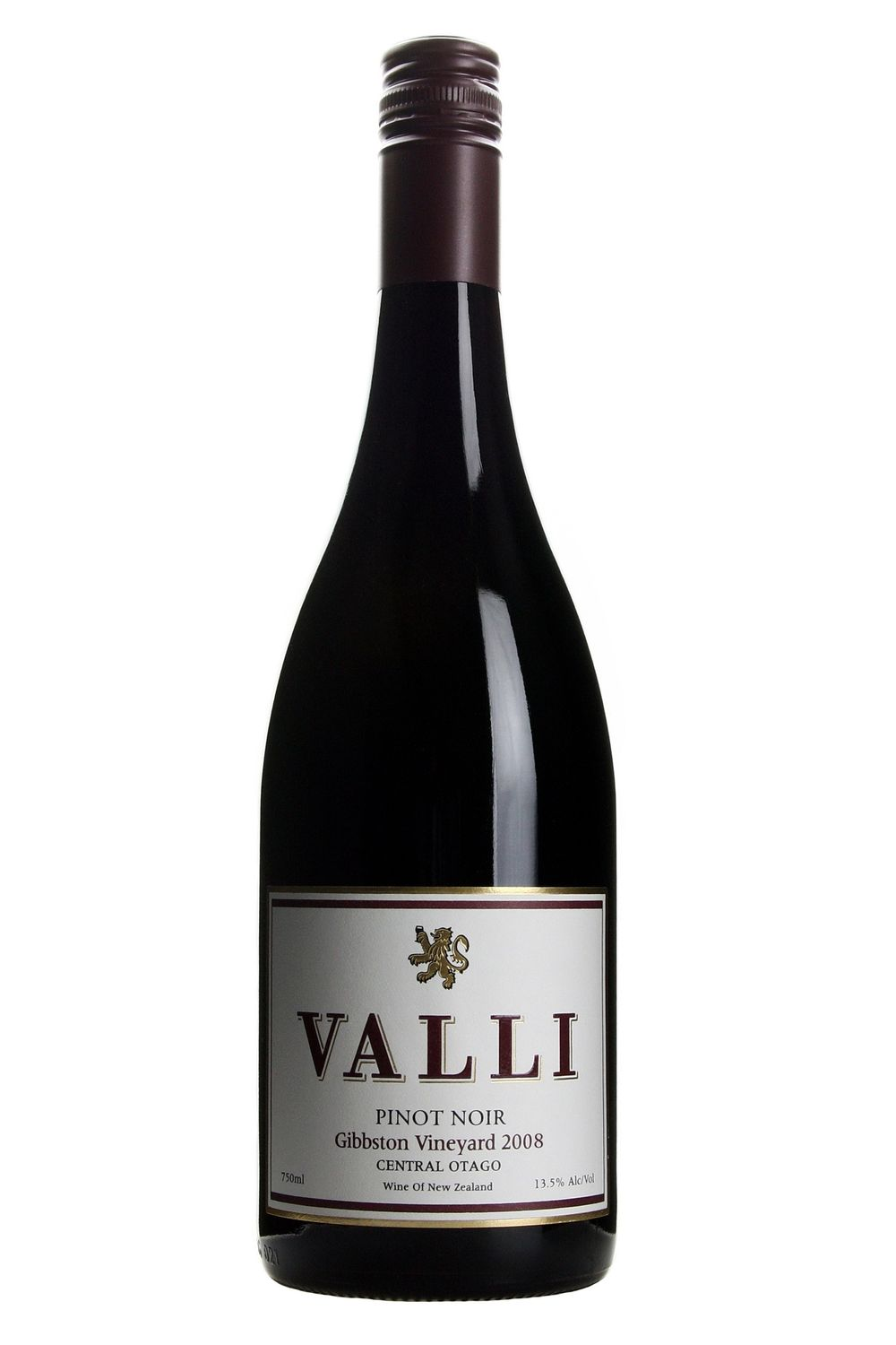 Valli Gibbston Vineyard Pinot Noir 2008