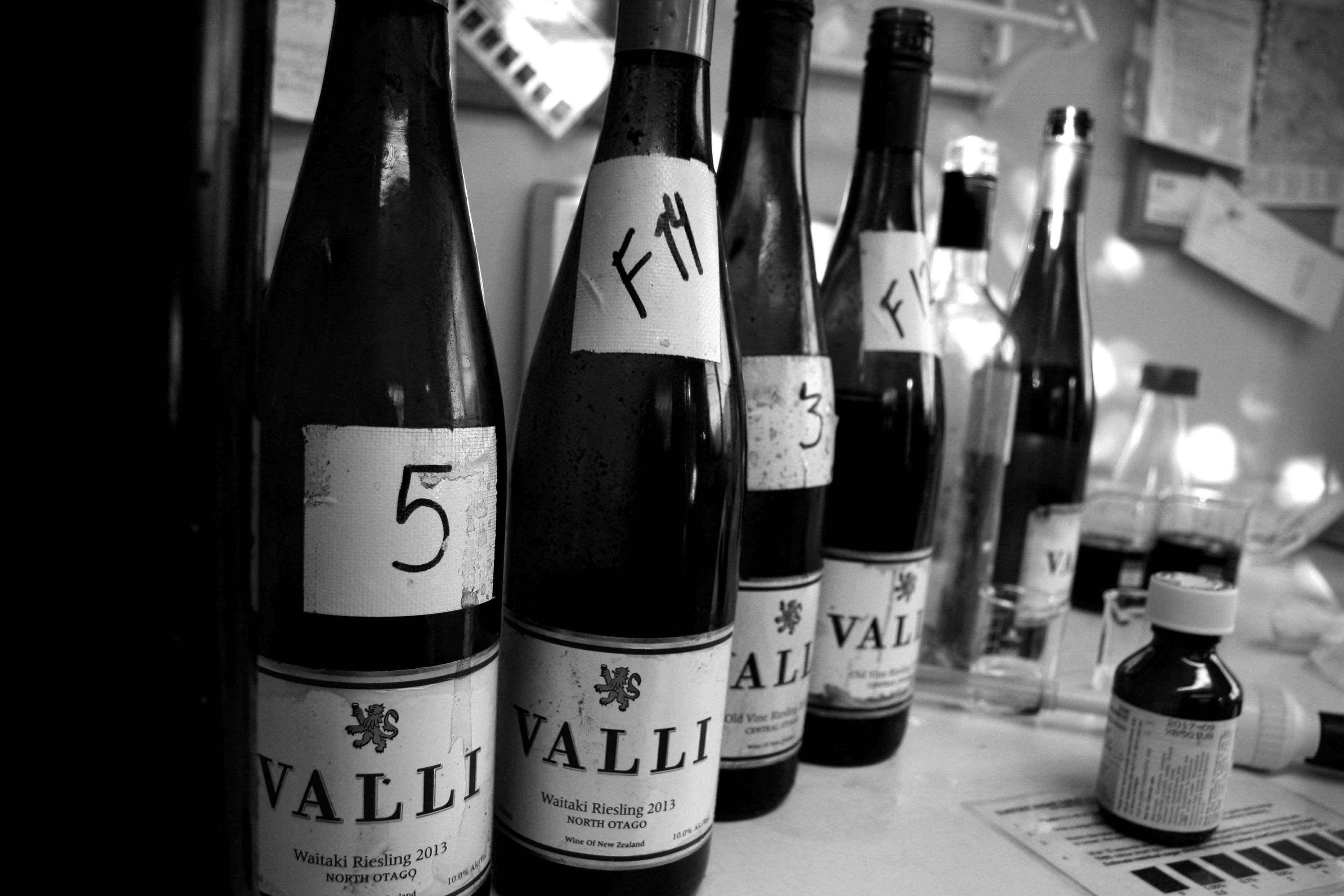 Valli Wine lab