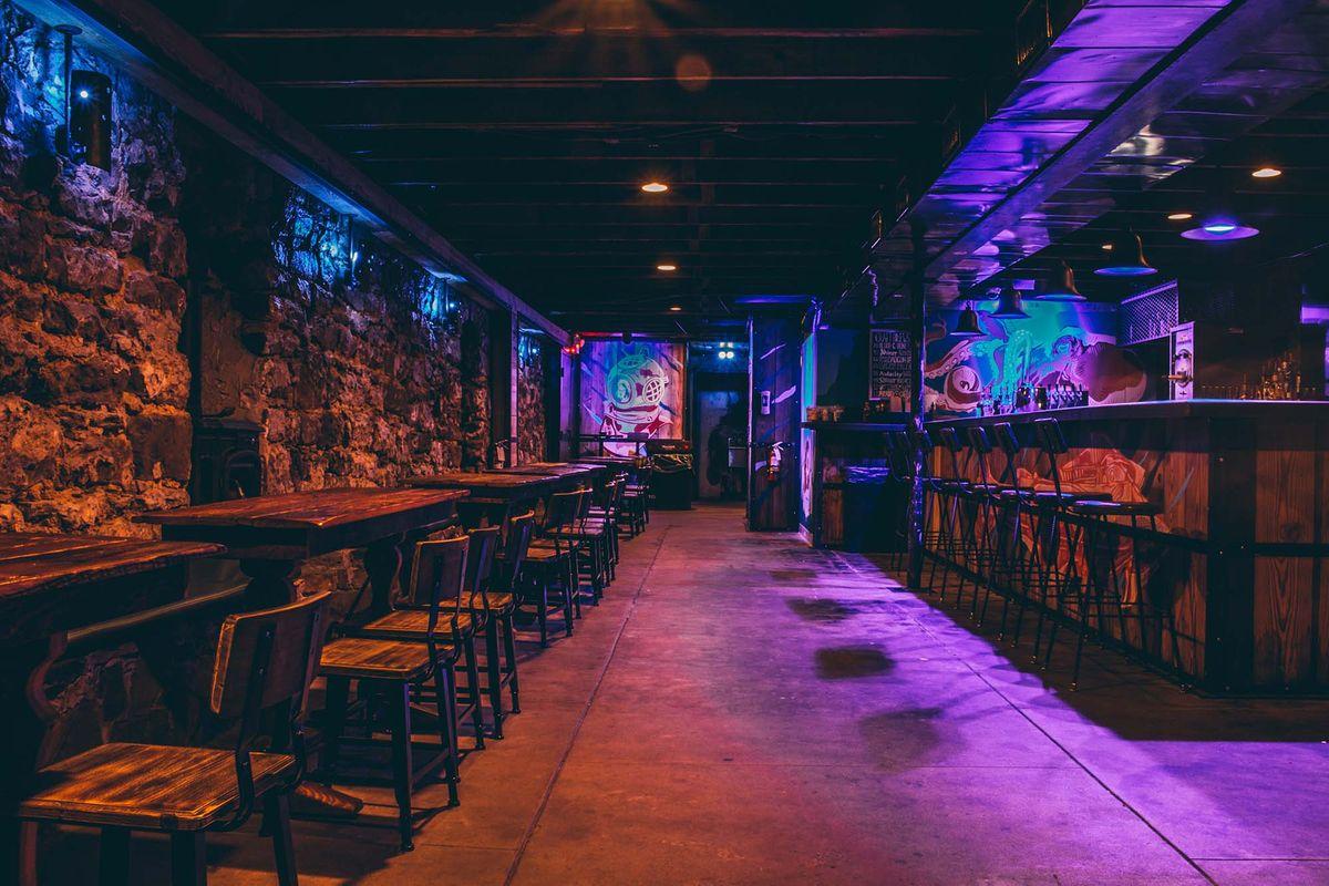 Andy's Bar and Paschall Bar in Denton, Texas on the Denton
