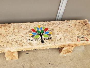Painted tree bench.jpg
