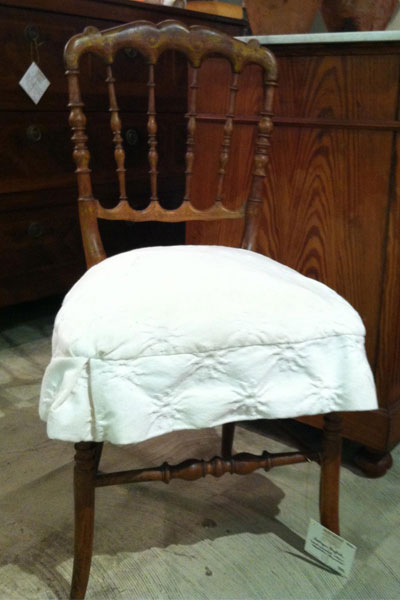 Antique wooden chair for sale - Houston, TX
