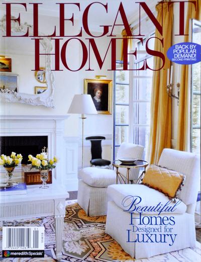 Elegant Homes feature on Savant Design Group, Houston, TX.