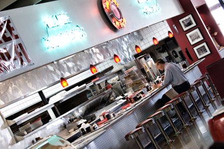 Interior Design for Houston Diner - Savant Design Group