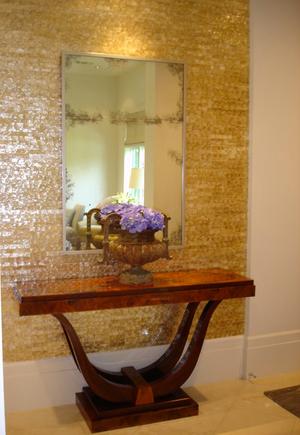 Traditional antique furniture & modern interior design