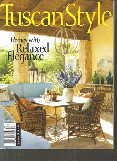TuscanStyle magazine feature on Savant Design Group, Houston, TX