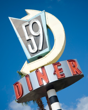 59Diner logo - Restaurant Interior Design - Savant Design Group