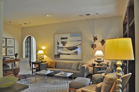 Transitional interior design & eclectic interior design, Houston