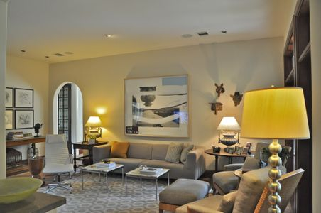 Transitional interior design & eclectic interior design, Houston