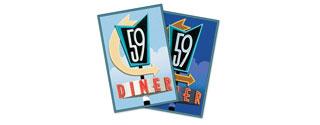 59 Diner logo