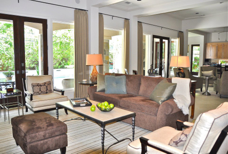 Transitional Interior by Houston Interior Designer Savant Design