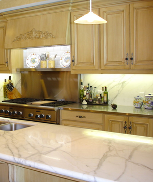 Traditional kitchen in home designed by Savant Design - Houston