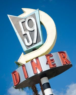 59Diner logo - Restaurant Interior Design - Savant Design Group