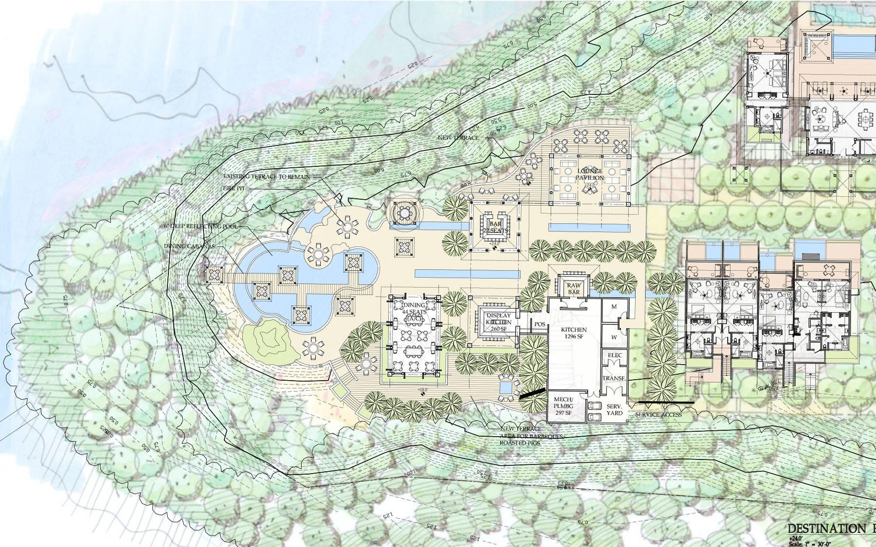 Four Seasons Cayo Largo, Master Plan