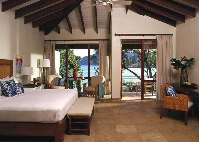 Rosewood Resort Renovation at Little Dix Bay