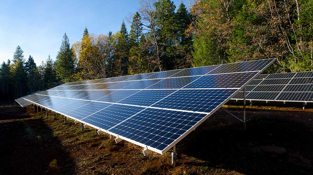 Commercial Solar Panels Ground