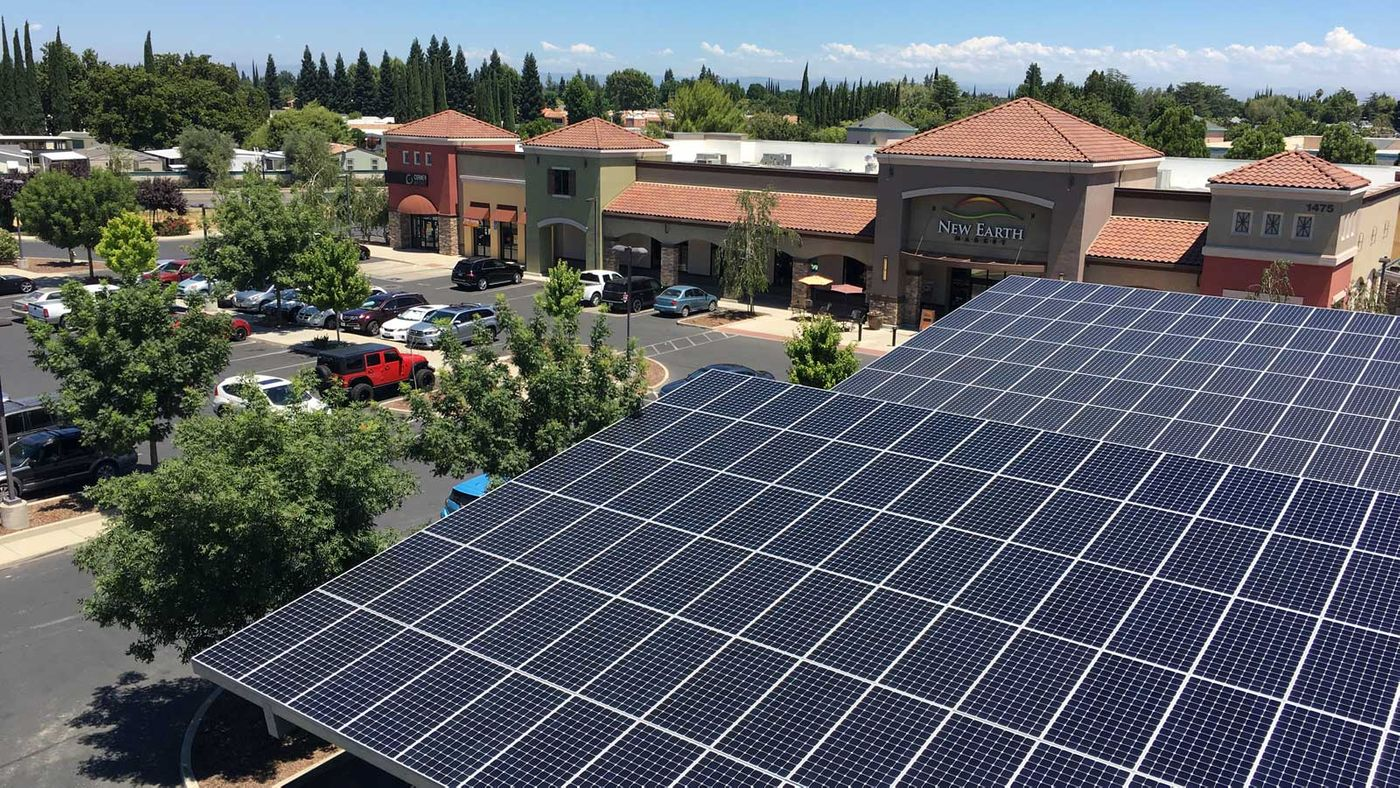 New Earth Commercial Solar Panels