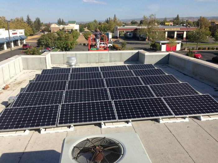 Jiffy Lube Chico Commercial Solar Installation