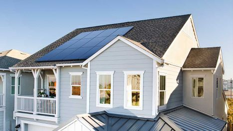 Solar Panels Lower Rooftop Temperature