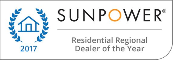 2017 Residential Regional Dealer of the Year for Solar