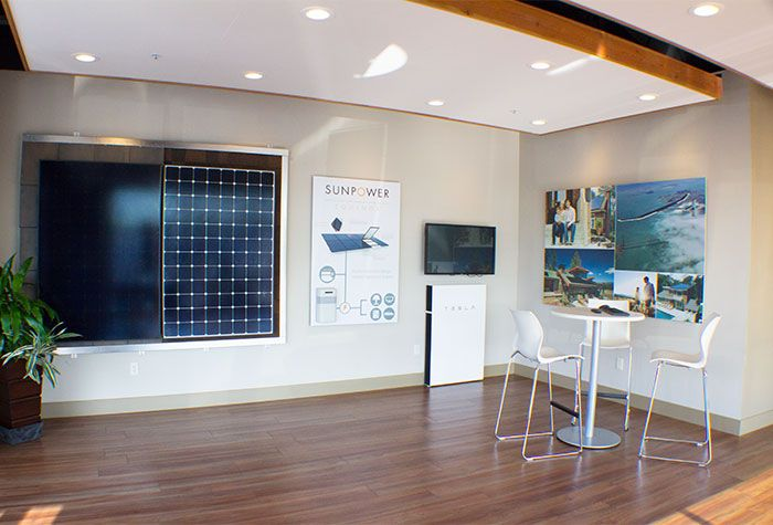 Solar Panel Design Showroom in Chico, California