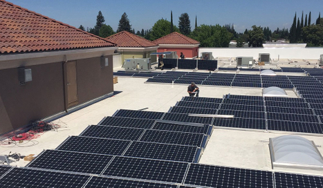 Commercial Solar Panel Installation in North Valley