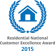 Residential National Customer Excellence Award Logo