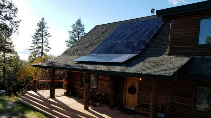 Cabin Solar Panels