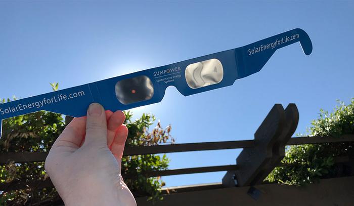 Solar Energy Eclipse Glasses