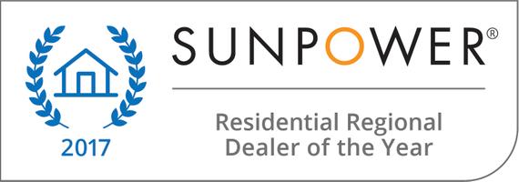 2017 Residential Regional Dealer of the Year for Solar
