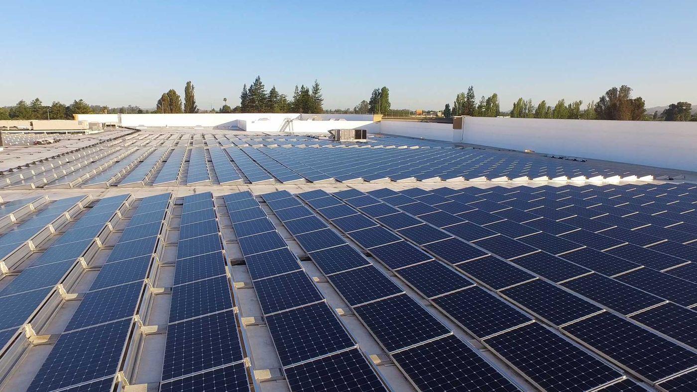 Roof Mount Solar Panels Chico, California