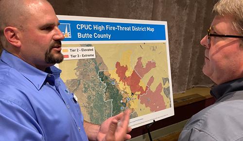 PG&E Planned Power Shutdown in Chico, California