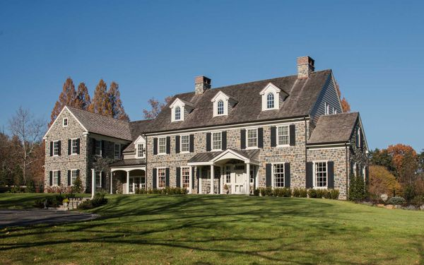 New Colonial Farmhouse