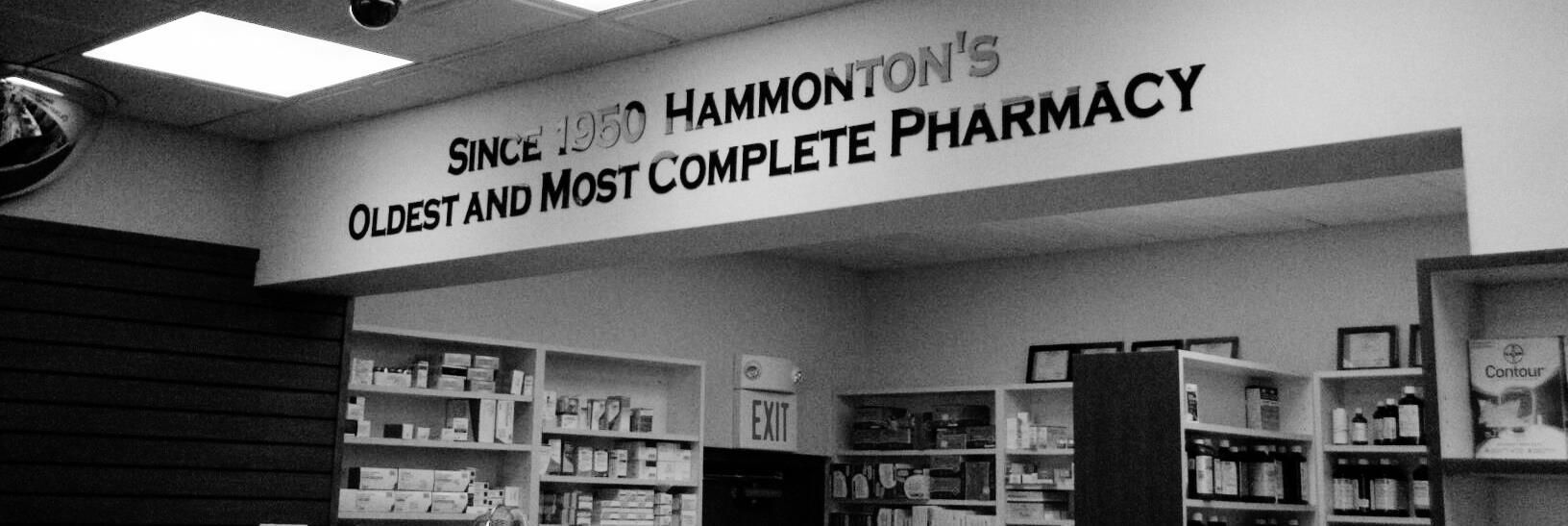 Hammonton's Oldest And Most Complete Pharmacy