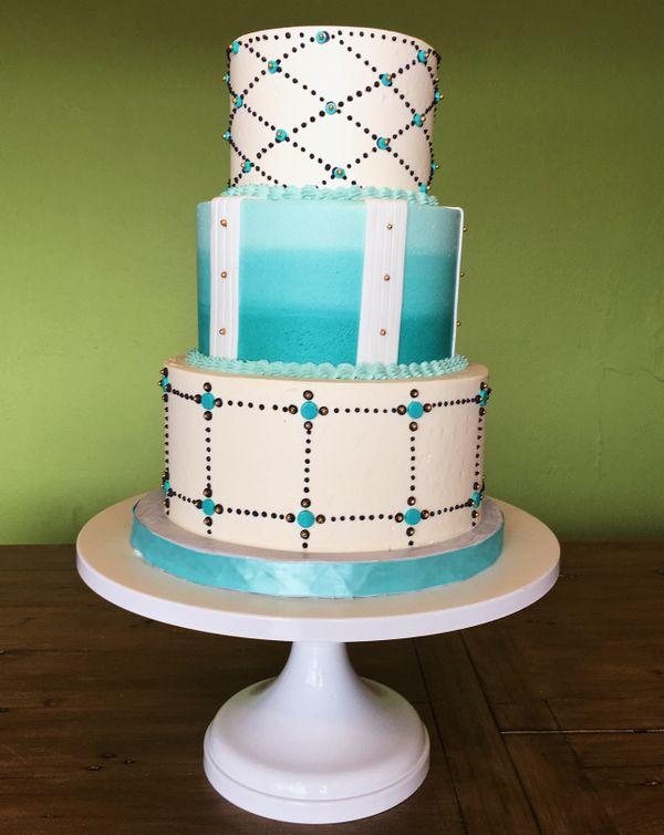 Unique Wedding Cake Design in Austin, Texas