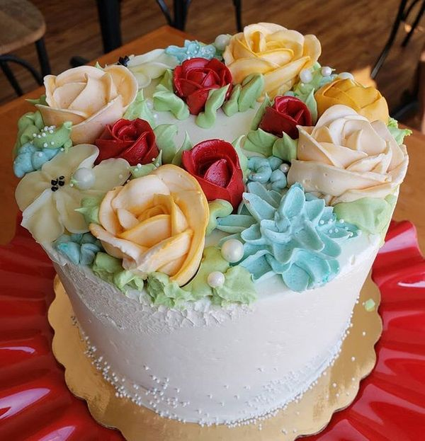 Beautiful Wedding Cake Bakery in Downtown Austin