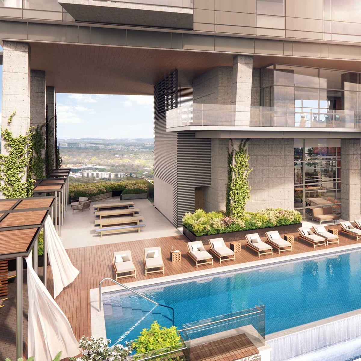 70 Rainey Rooftop Pool