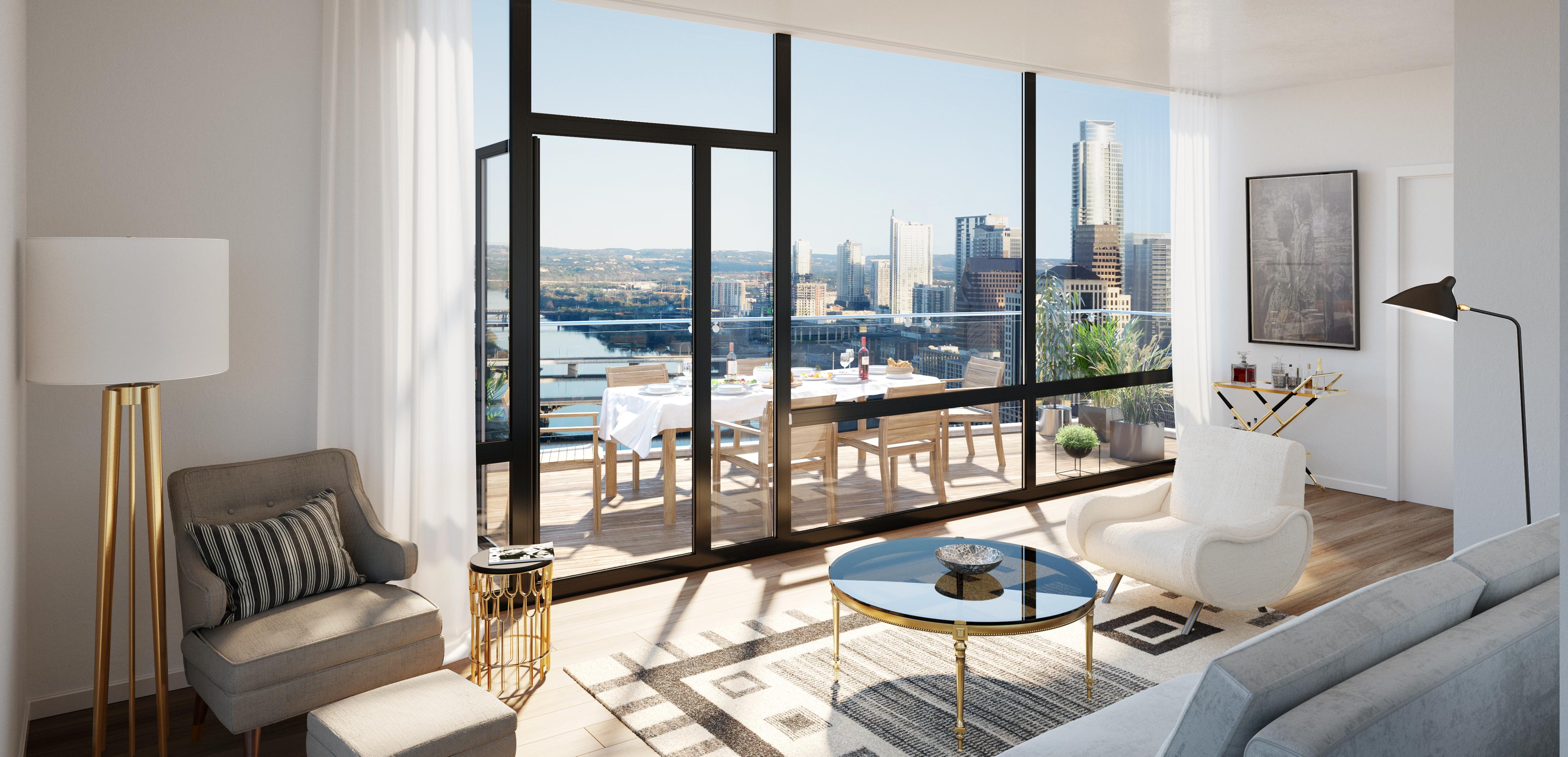 Austin Penthouse Terrace