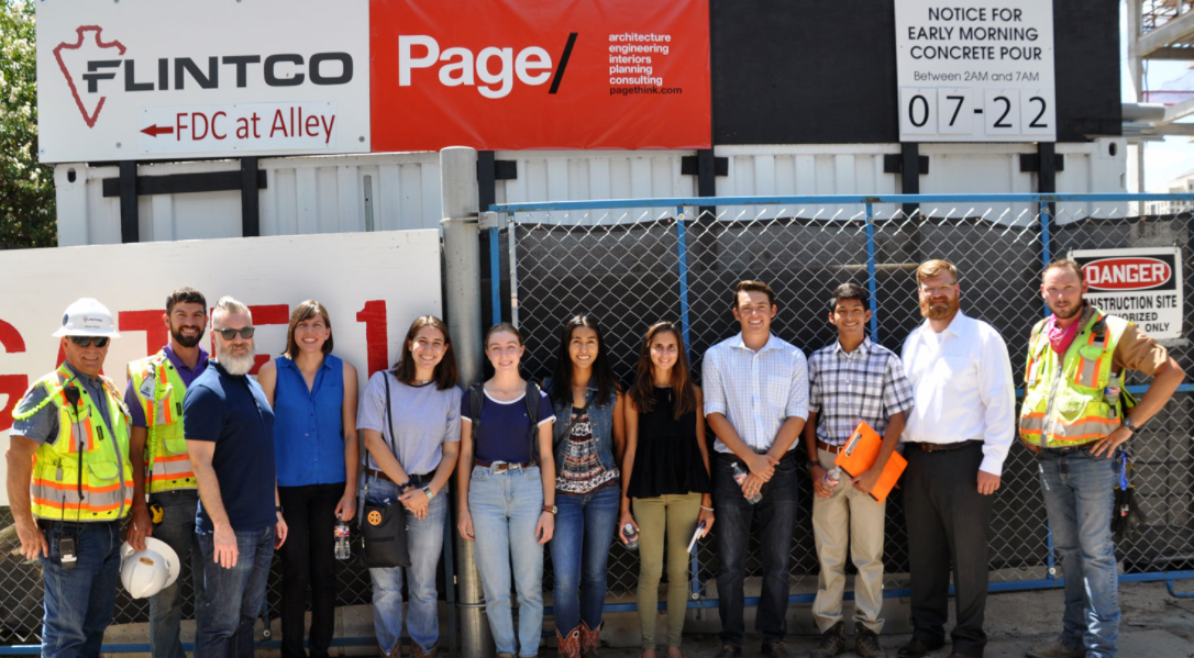 Page Interns at 70 Rainey