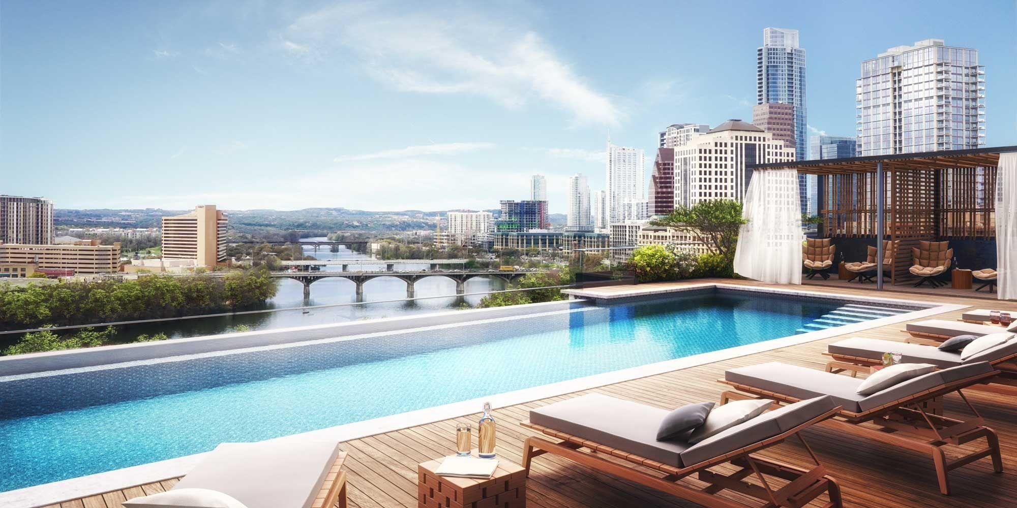 Austin Best Rooftop Pool