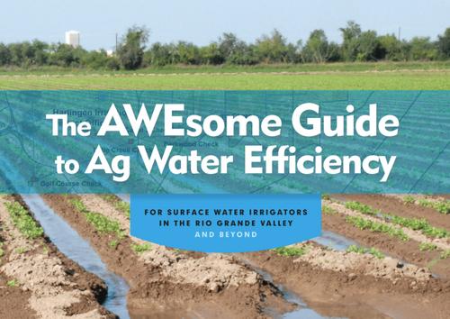 Irrigation in RGV Water Efficiency