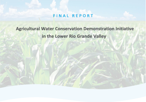 Cover of final TWDB report on Texas AWE findings