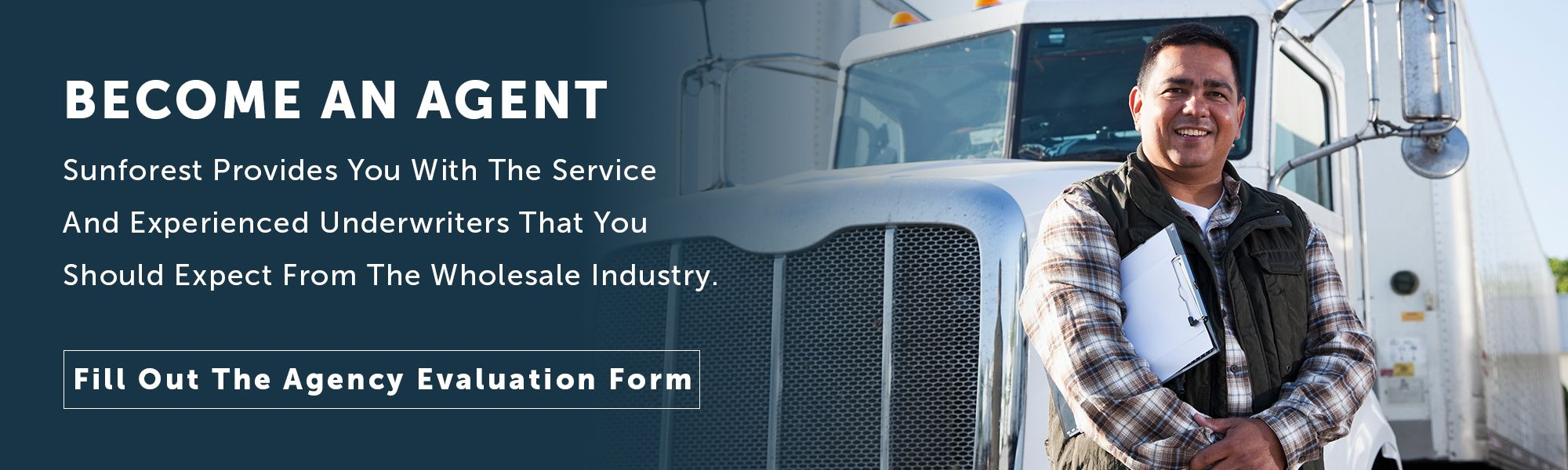 Become an Agent for Trucking Insurance