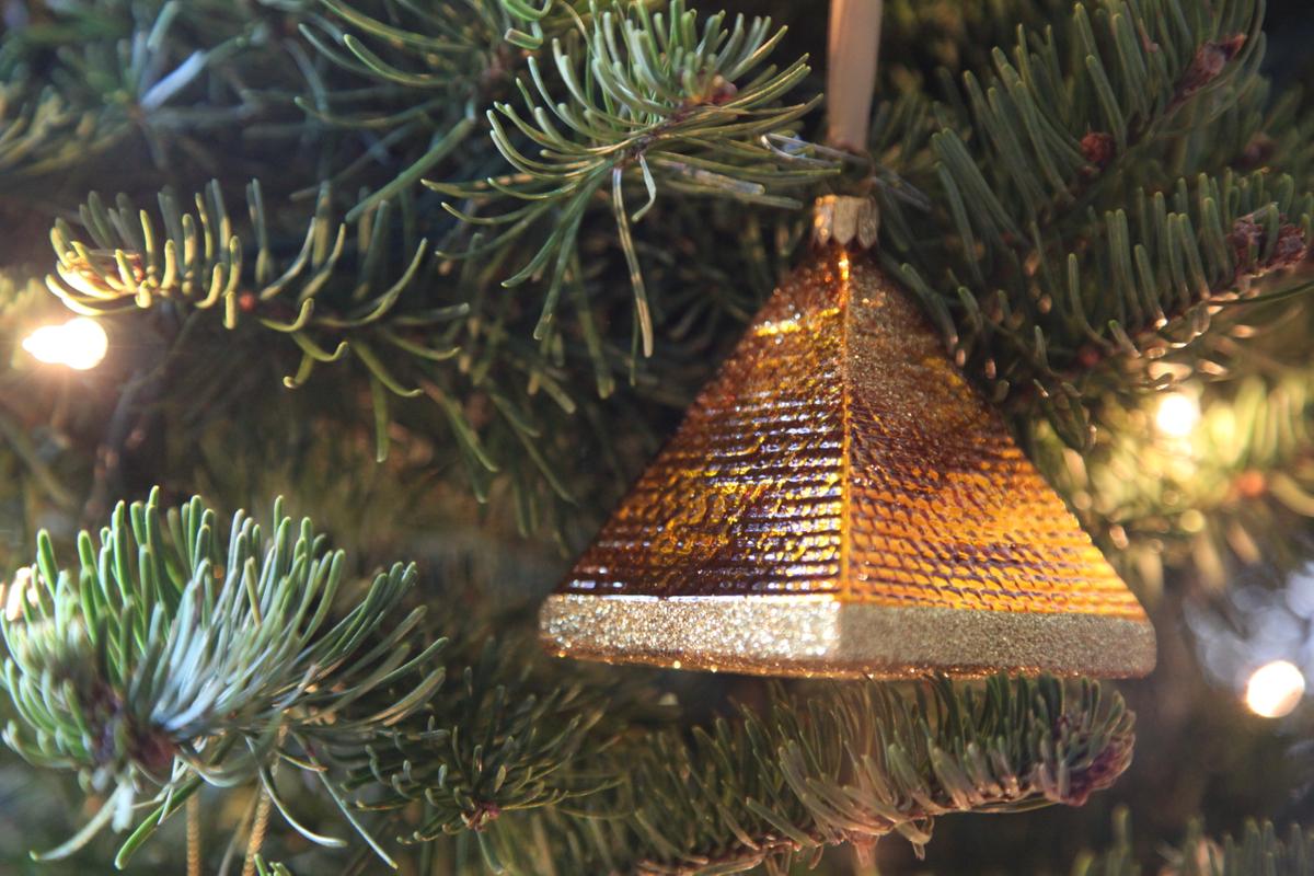 pyramid ornament