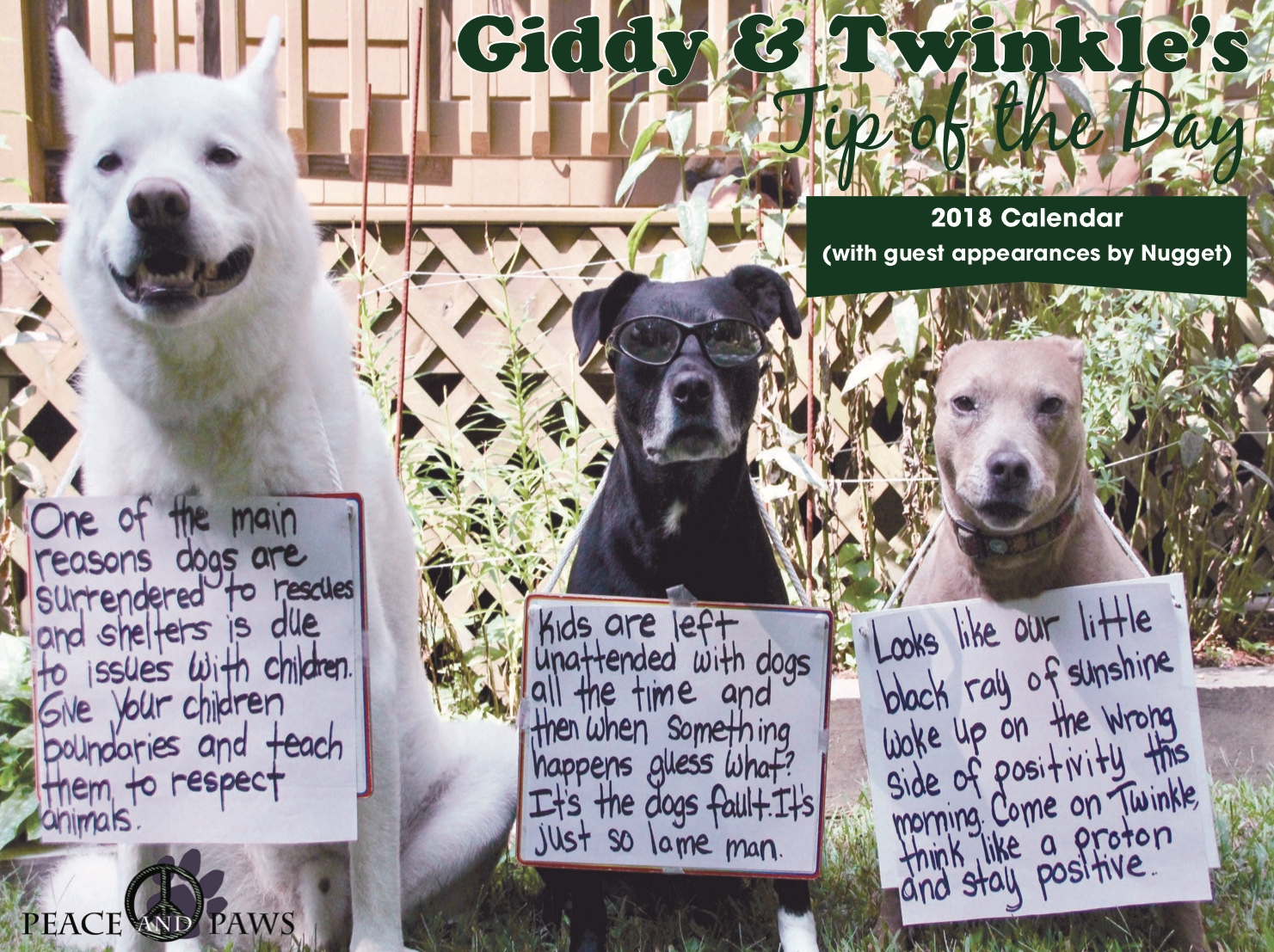2018 GIDDY & TWINKLE Tip of the Day Calendars Are In!  Click Here to Place Your Order!