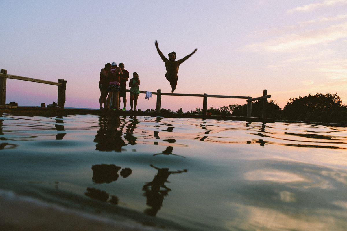 Summer Night Swim