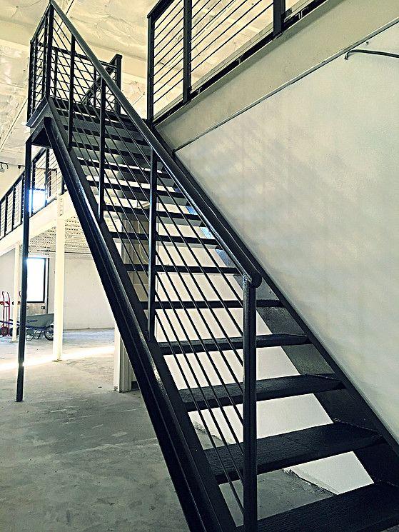 801 Cannon Interior Stairs to Mezz Nov 2015.jpg