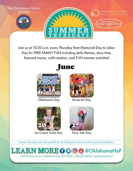 Summer Thursdays!