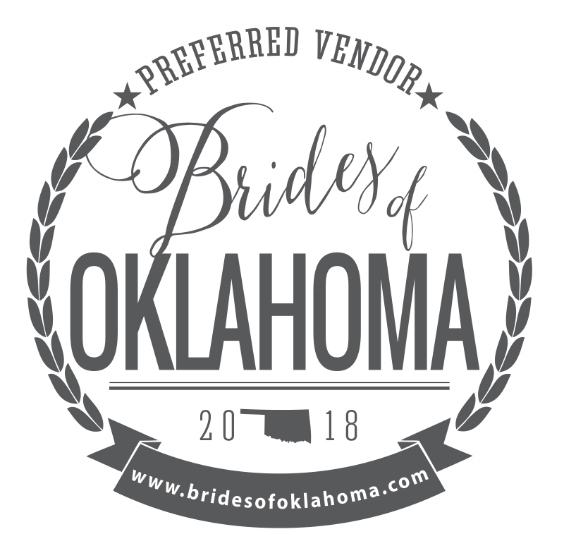 Brides of Oklahoma 2018 Preferred Vendor!
