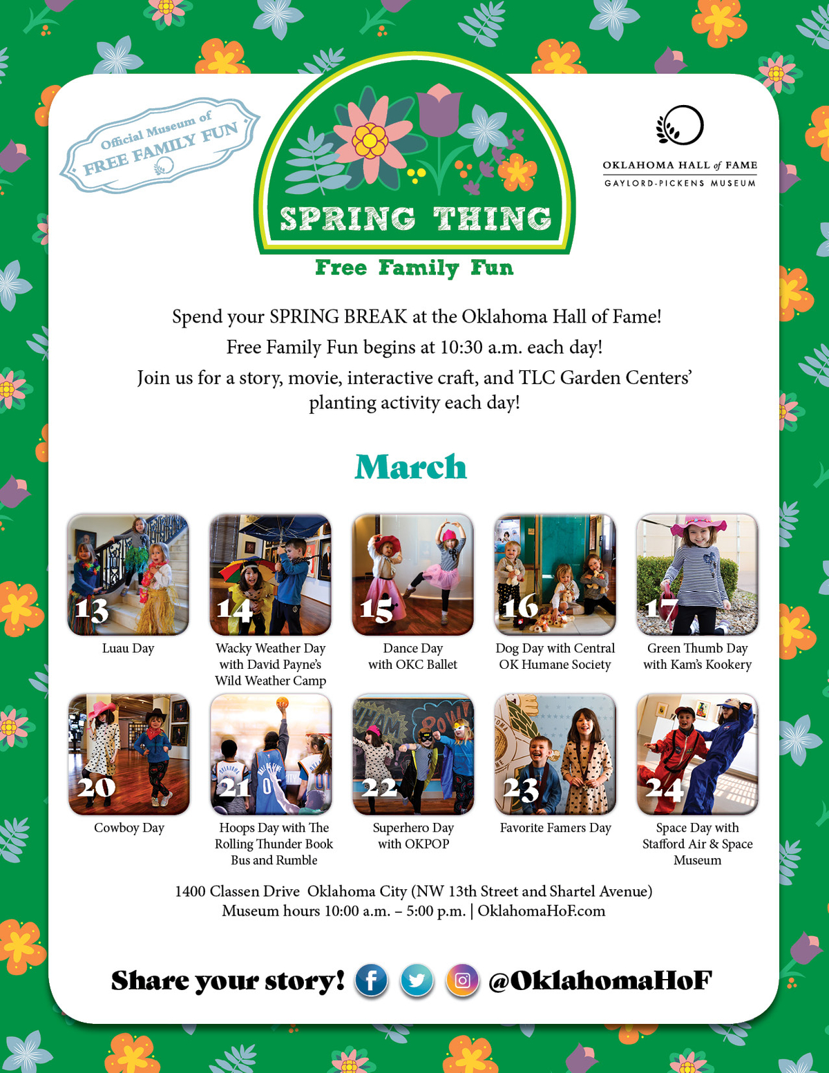 Spring Thing Full Calendar