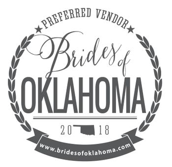 Brides of Oklahoma 2018 Preferred Vendor!
